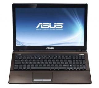 Asus 15.6 LED Notebook 4GB RAM, 500GB HD, Intel Core i3 —