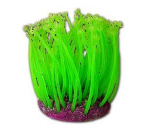 Aquarium Goniopora Anemone Coral Neon Glow Ornament Plant