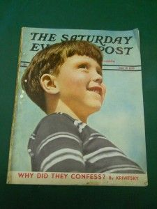 SATURDAY EVENING POST MAGAZINE JUNE 17, 1939 ~ WHY DID THEY CONFESS?
