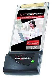 Verizon Wireless Naional Access PC Card V620