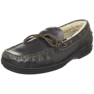 Cole Haan Mens Pinch Cup Camp Black Loafers Slip on Casual Shoes 10