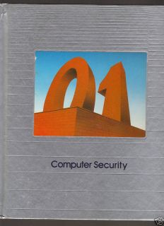 Computer Security by Time Life Books 1986 1770F 0809456702