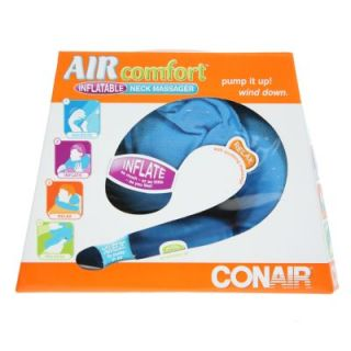 Conair NM15 Comfort Inflatable Neck Massager Travel Pillow Plush