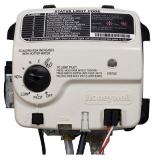 Electronic Ultra Lownox Water Heater Gas Control Valve