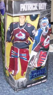 Collectors Series Pro Zone Patrick Roy Action Figure Doll Playmates