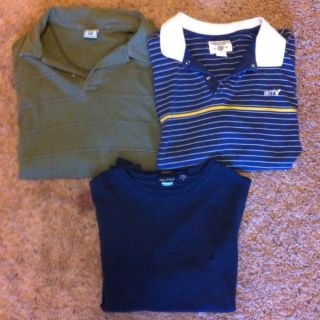 Mens Shirts American Eagle Nautica and Old Navy