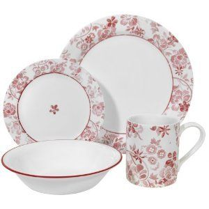 Corelle Classic Touch Dinnerware Set 20 Pieces New