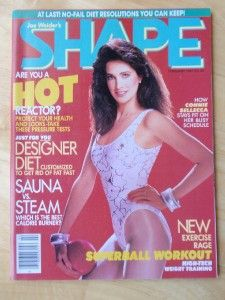 Shape Female Fitness Muscle Magazine Connie Sellecca 2 87