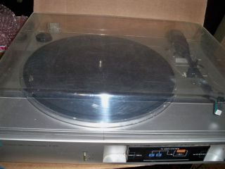 SANSUI P D11 AUTOMATIC DIRCT DRIVE VINTAGE TURNTABLE RECORD PLAYER