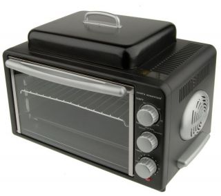 CooksEssentials Convection Oven with 4 Slice Grill Top —
