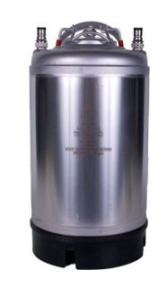 3 Gallon Cornelius Ball Lock Keg New
