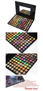 88 Color Super Glitter Eyeshadow Salon Makeup Palette