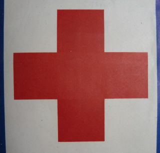 Original WW1 Red Cross Service Flag Posters Ships Free