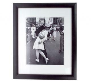 Life Magazine VJ Day in Times Square Framed Photo Print —