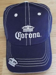 Corona Beer Official Baseball Cap Hat One Size Fits All Brand New