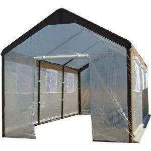 6x8x7 Small Greenshouse Shed Nursery Kit New Fabric Netting Durable