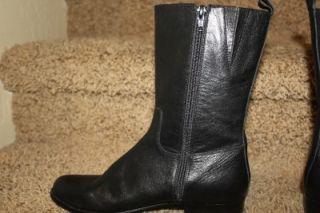 corso como shepparton mid calf boot black womens size 6 new