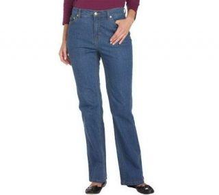 Liz Claiborne New York Hepburn Petite Boot Cut Stretch Jeans   A204044