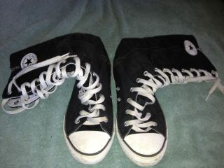 Cute Knee High Converse Sz 4 Great Condition