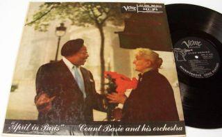 Count Basie ORCH LP April in Paris Verve Clef Series