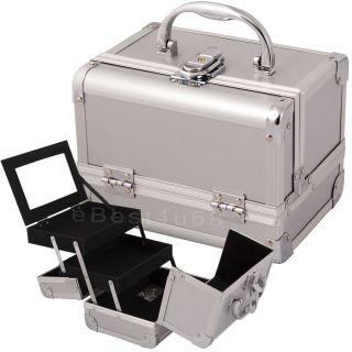 Makeup Cosmetic Train Case Aluminum Kit Bag Box MC1