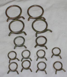 New Mopar 1964 69 Small Block Hose Clamp Kit w Air