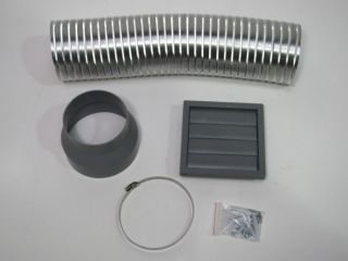 Stainless Steel Cooker Hood 90cm Extract Fan Vent Kit