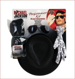 Michael Jackson Licensed Adult Halloween Costume Kit