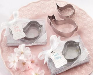 Mamma and Baby Bird Stainless Steel Cookie Cutters Shower Favor