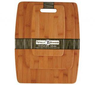 Totally Bamboo 3 Piece Cutting Board Set —