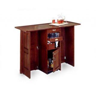 Home Styles Portable Bar   Cherry Finish —