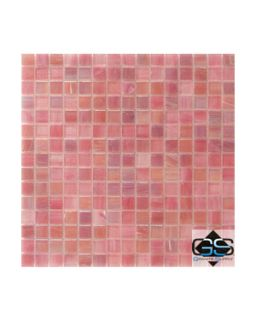 iridescent glass mosaic tile 13 x13 cotton candy carton glass