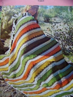 Cool 1970s Dress Fashion Knit Crochet Patterns Afghans