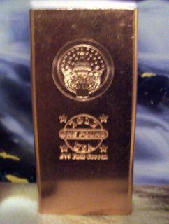 New Pound 2012 Capitol Eagle 999 Fine Copper Bullion Bar Exclusive