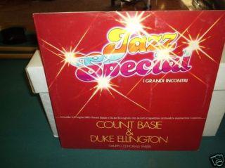 Count Basie Duke Ellington I Grandi Incontri Italy LP