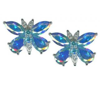 Kirks Folly Monarch Dream Butterfly Pierced Earrings —