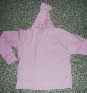 Champion Size Large Pink Fleece Lined Hoodie Hooded Sweatshirt