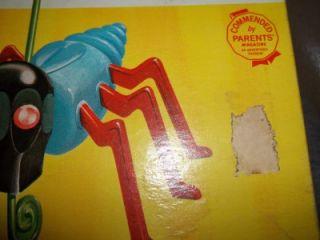 Vintage Cootie Bug Game by Schaper Complete Excellent
