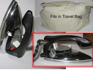 Compact Portable Iron GE F49 World Wide Travel Kit 11