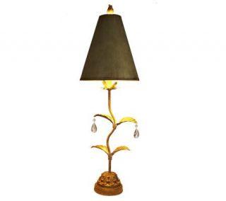 Bombay 36 1/2 inch Leaf Buffet Lamp —