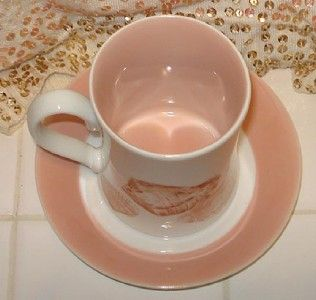 fitz floyd coquille shells mug w rondelet saucer