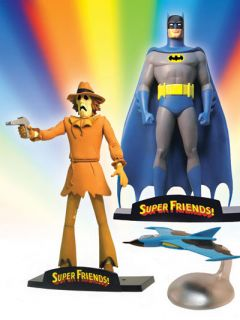 DC Direct★new Super Friends Complete Figure Set Superman Batman JLA
