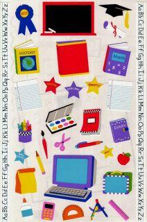 Mrs Grossmans School Supplies Books Computer 25 Giant Sheets Stickers