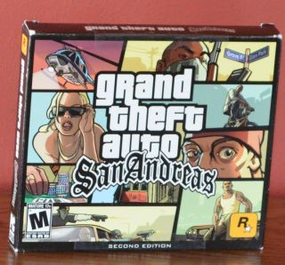Grand Theft Auto San Andreas GTA SA PC Game Brand New Sealed XP Vista