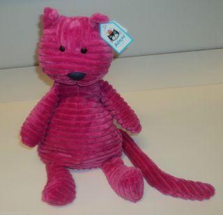 Jellycat Medium Cordy Roy Hot Pink Cat Luxury 15 ROY3C London New