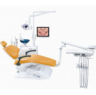 Computer Controlled Dental Unit Chair FDA CE Approved A1 1 Hard