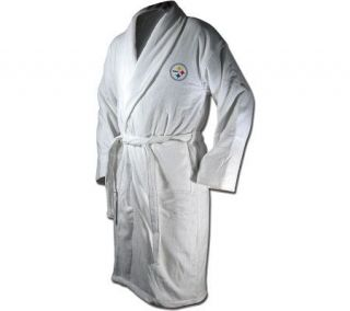 NFL Pittsburgh Steelers Logo Embroidered Bath Robe —