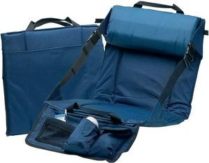 Bleacher Cushion Chair w/ Lumbar & Pockets, Crazy Creek Folding Seat