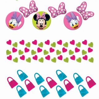 Minnie Mouse Bow tique Bowtique Birthday Party Confetti Daisy