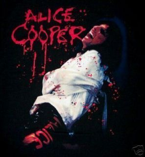 Alice Cooper CD CV Crazy Horse Straight Jacket Shirt LG